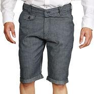 Sparrow Clothings Cotton Cargo Shorts_wjcrsht15 - Black