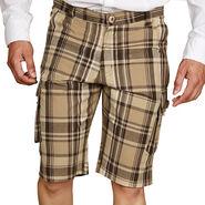 Sparrow Clothings Cotton Cargo Shorts_wjcrsht10 - Multicolor