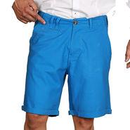 Sparrow Clothings Cotton Cargo Shorts_wjcrsht04 - Blue