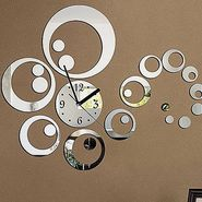 DIY Wall Clock 3D Sticker -0434S
