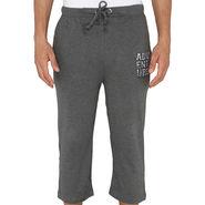 Chromozome Regular Fit 3/4th Short For Men_10002 - Grey