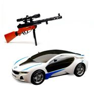 Combo of Qunxing M 40 Sniper Airgun + 3D Car