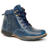 Bacca bucci Leather Boots - Blue-5542