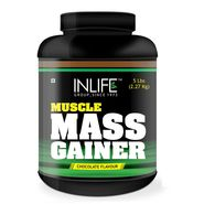 INLIFE Mass Gainer 5 Lb (2.27Kg) + Free Shaker