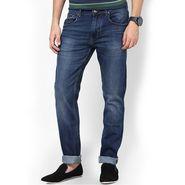 Branded Regular Fit Stylish Jeans For Men - Raymond Cotton Fabric_npjwz5 - Blue