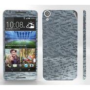 Snooky Mobile Skin Sticker For HTC Desire 820 - Silver