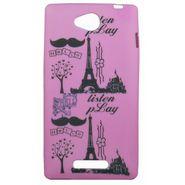 Snooky Designer Soft Back Case Cover For Nokia Lumia 535 - Pink