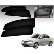 Set of 4 Premium Magnetic Car Sun Shades for ToyotaEtios