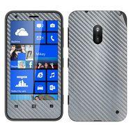 Snooky Mobile Skin Sticker For Nokia Lumia 620 20984 - silver