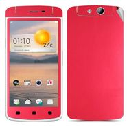 Snooky Mobile Skin Sticker For OPPO N1 Mini 20887 - Red
