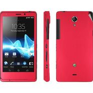 Snooky Mobile Skin Sticker For Sony Xperia T Lt30p 20825 - Red