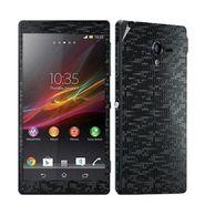 Snooky Mobile Skin Sticker For Sony Xperia Zl L35h C6502 20850 - Black
