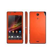 Snooky Mobile Skin Sticker For Sony Xperia Zr M39h 20863 - Orange