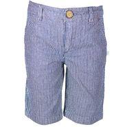 ShopperTree Denim Yarn Dyed Stripe Short_ST-1426