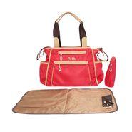 Wonderkids Red Baby Diaper Bag_BK1242-RBDB
