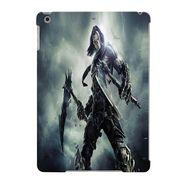 Snooky Digital Print Hard Back Case Cover For Apple iPad Air 23638 - Grey