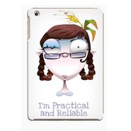 Snooky Digital Print Hard Back Case Cover For Apple iPad Mini 23754 - White