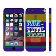 Snooky 28345 Digital Print Mobile Skin Sticker For Apple Iphone 5 - Multi