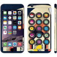 Snooky 28417 Digital Print Mobile Skin Sticker For Apple Iphone 6 - Multi