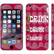Snooky 28427 Digital Print Mobile Skin Sticker For Apple Iphone 6 Plus - Pink