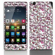 Snooky 27772 Digital Print Mobile Skin Sticker For Gionee Elife E6 - Multi