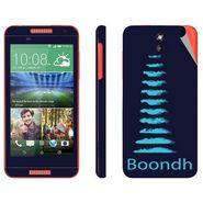 Snooky 28097 Digital Print Mobile Skin Sticker For HTC Desire 610 - Blue