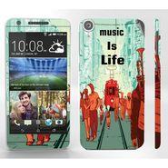 Snooky 28116 Digital Print Mobile Skin Sticker For HTC Desire 820 - Multi