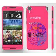 Snooky 28110 Digital Print Mobile Skin Sticker For HTC Desire 820 - Pink