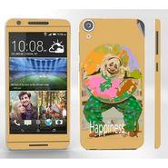 Snooky 28112 Digital Print Mobile Skin Sticker For HTC Desire 820 - Yellow