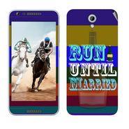 Snooky 28210 Digital Print Mobile Skin Sticker For HTC Desire 820 mini - Multi