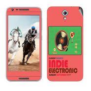 Snooky 28226 Digital Print Mobile Skin Sticker For HTC Desire 820 mini - Multi
