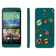Snooky 28244 Digital Print Mobile Skin Sticker For HTC One E8 - Green