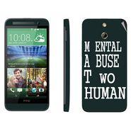 Snooky 28239 Digital Print Mobile Skin Sticker For HTC One E8 - Multi