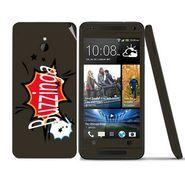 Snooky 28294 Digital Print Mobile Skin Sticker For HTC One mini - Multi