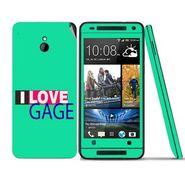 Snooky 28295 Digital Print Mobile Skin Sticker For HTC One mini - Green