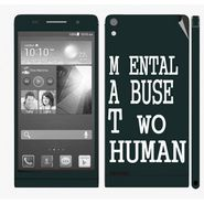 Snooky 28320 Digital Print Mobile Skin Sticker For Huawei Ascend P6 - Multi