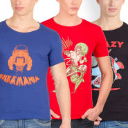 Pack of 3 Incynk Cotton T Shirts_Mhtc434
