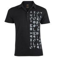 Branded Cotton Tshirt_3060blk - Black