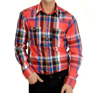 Branded Cotton Shirt_Jjmurd - Multicolor