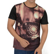 Graphic Printed Tee - Multicolor_telts