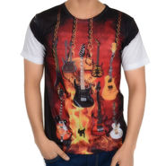 Graphic Printed Tee - Multicolor_gtts