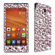 Snooky 38785 Digital Print Mobile Skin Sticker For Xiaomi Redmi 1S - Pink