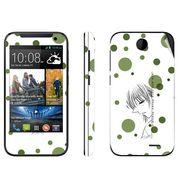 Snooky 38913 Digital Print Mobile Skin Sticker For HTC Desire 310 - White