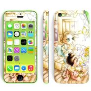 Snooky 39053 Digital Print Mobile Skin Sticker For Apple Iphone 5C - White