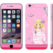 Snooky 39072 Digital Print Mobile Skin Sticker For Apple Iphone 6 - Pink