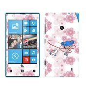 Snooky 39244 Digital Print Mobile Skin Sticker For Nokia Lumia 520 - White