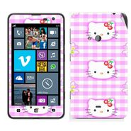 Snooky 39260 Digital Print Mobile Skin Sticker For Nokia Lumia 625 - Pink
