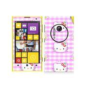 Snooky 39296 Digital Print Mobile Skin Sticker For Nokia Lumia 1020 - Pink