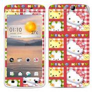 Snooky 39354 Digital Print Mobile Skin Sticker For OPPO N1 Mini - Pink