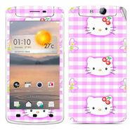 Snooky 39356 Digital Print Mobile Skin Sticker For OPPO N1 Mini - Pink